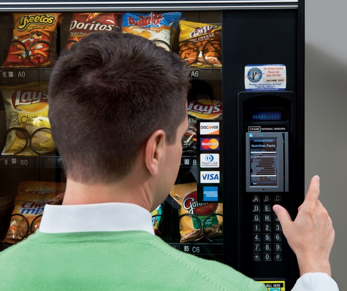How to Display Nutritional Facts on Vending Machines