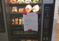 out of order vending machine