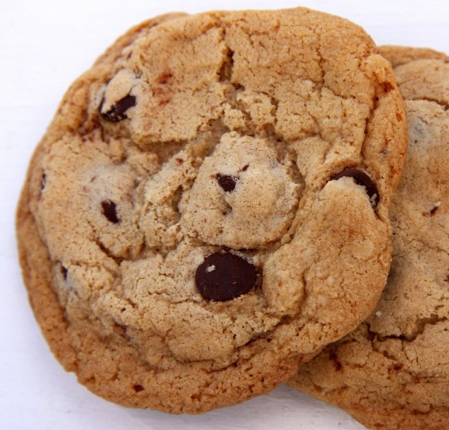 old english chocolate chip cookie
